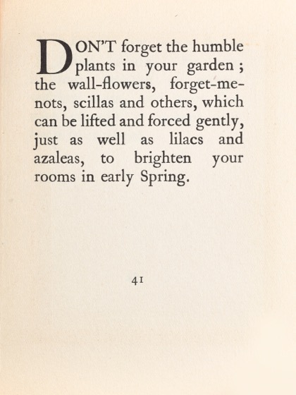 From Gardening Don'ts (1913) by M.C. 32