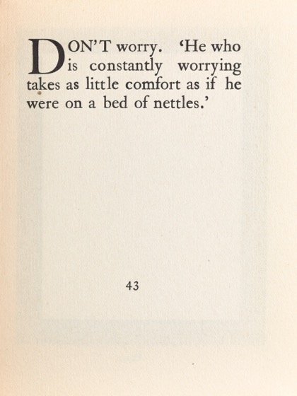 From Gardening Don'ts (1913) by M.C. 34
