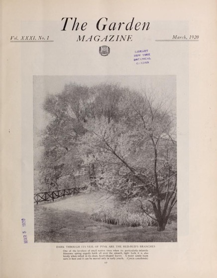 Historical Garden Books - 81 in a series - The Garden magazine (1920)