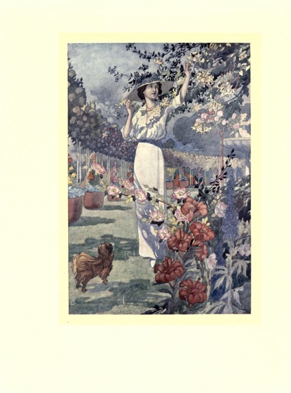 Artwork from My Sentimental Garden (1914) - 1 in a series