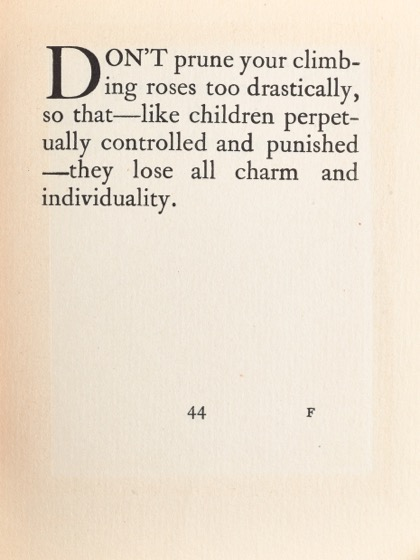 From Gardening Don'ts (1913) by M.C. 35
