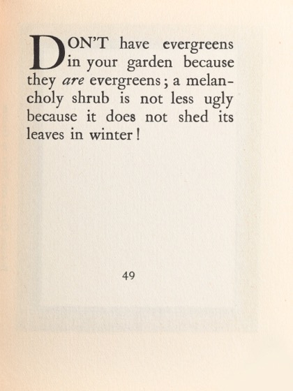 From Gardening Don'ts (1913) by M.C. 39