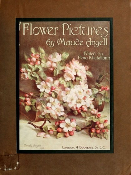 Vintage Botanical Prints - 1 in a series - Bouquet from Flower pictures (1914) by Maude Angell
