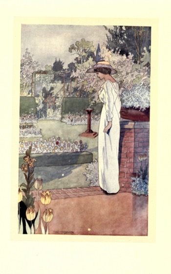 Artwork from Our Sentimental Garden (1914) - 10 in a series