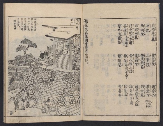 Historical Garden Books - 103 in a series - 都林泉名勝圖會 : 全部六冊 / Tour of Dulin Spring Scenic Spots: All six volumes (1800)
