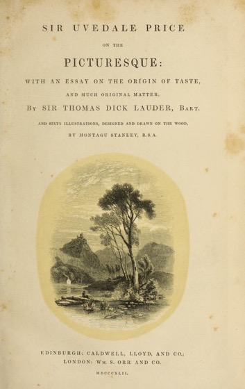 Historical Garden Books - 108 in a series - Sir Uvedale Price, On the picturesque (1842)