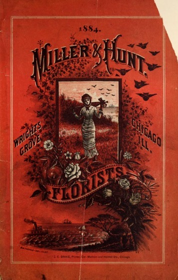 Historical Garden Books – 112 in a series – Miller & Hunt Florists (1884)