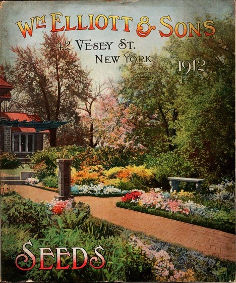 Historical Seed Catalogs - 98 in a series - General catalogue for William Elliott & Sons (1912) Cover