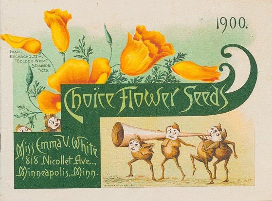 Historical Seed Catalogs - 100 in a series - Choice flower seeds (1900) by Emma V. White Cover