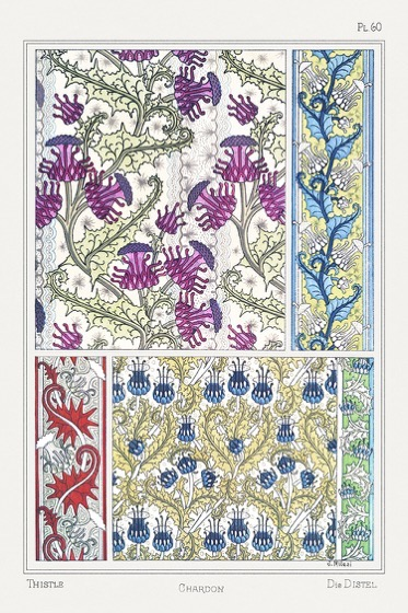 Exquisite Instructional Book From 1896 Illustrates How Flowers Become Art Nouveau Designs via My Modern Met
