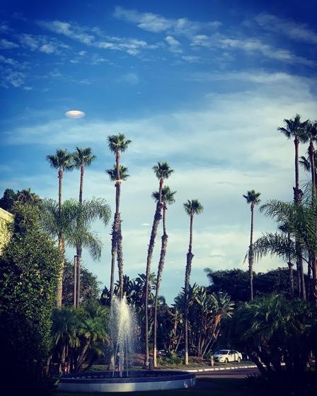 Hotel grounds, San Diego, California via Instagram