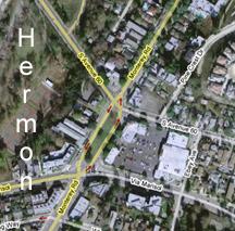 Hermon California Satellite Picture from Google