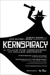 KERNSPIRACY flyer