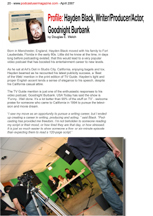 Podcast User Magazine page
