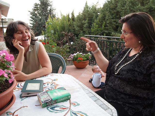 Rosanne and Daniela
