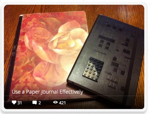 Snapguide journal