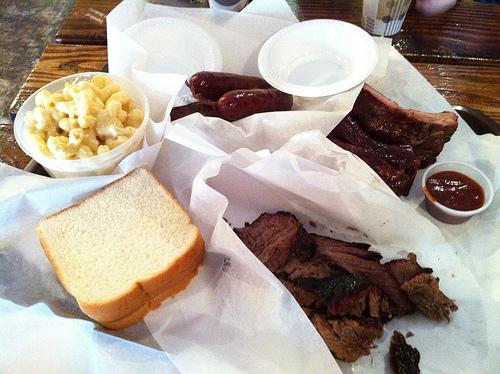 Food: Texas BBQ from Smoke City Market in Sherman Oaks