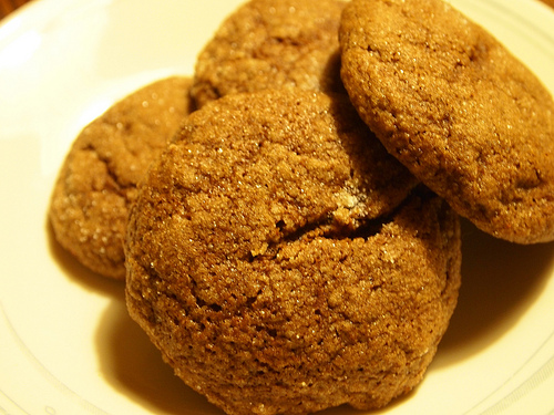 New Food: Soft Pumpkin Ginger Cookies