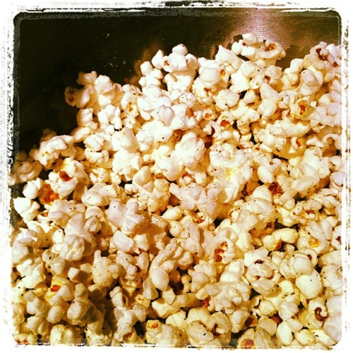 Popcorn instagram