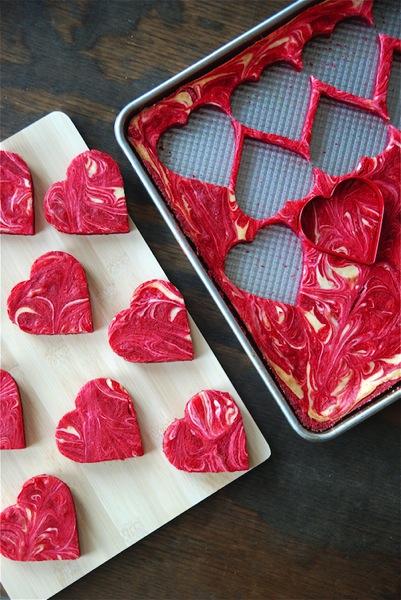 Red velvet cheesecake bites