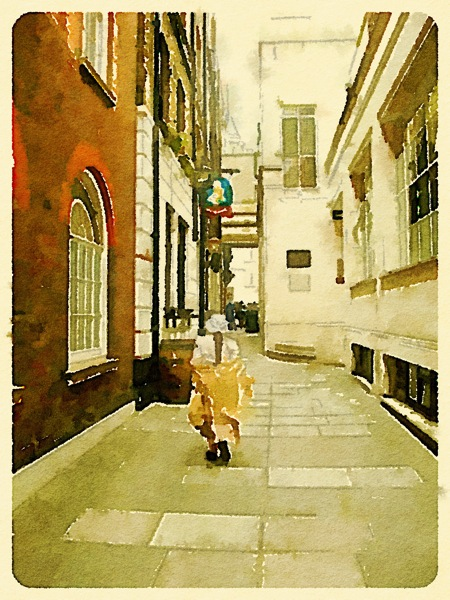 London watercolor 1