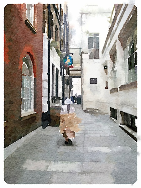 London watercolor 2