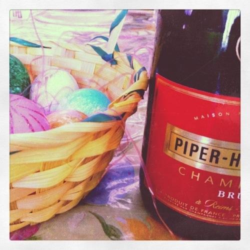 Easter dinner prep