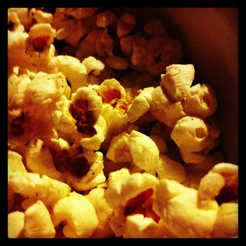Evening popcorn