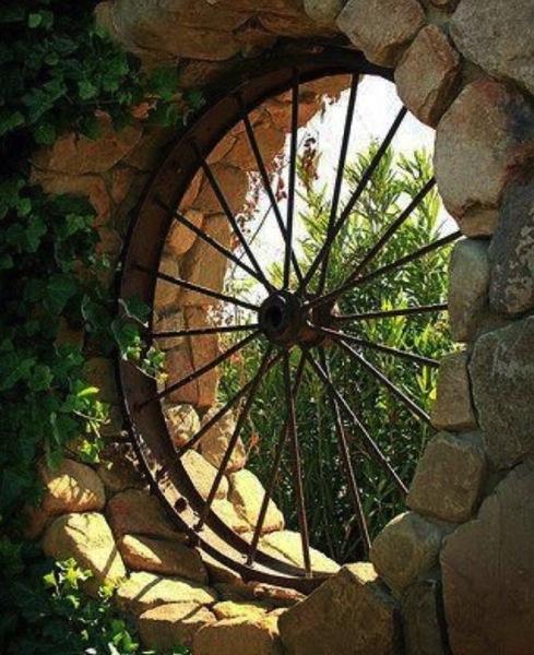 Tractor wheel wall