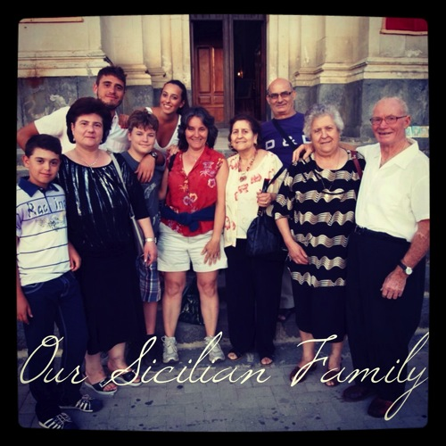Photo: Our Sicilian Family…in Agira