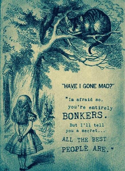 Alice mad