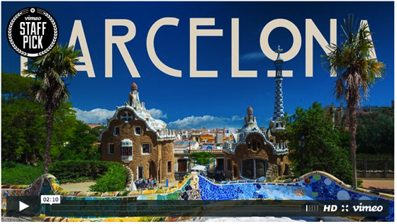 Captivating 2-Minute Time-Lapse of Barcelona Took 363 Hours to Make via Mashable