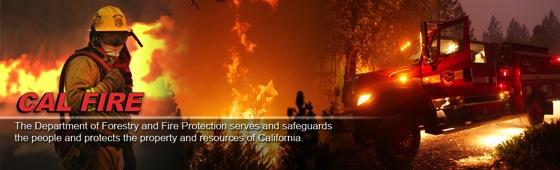 Cal fire banner