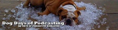 Dog Days of Podcasting Logo