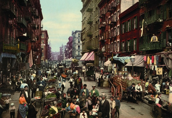 These Gorgeous Postcards Are Some Of The First Color Photographs Of America via Business Insider