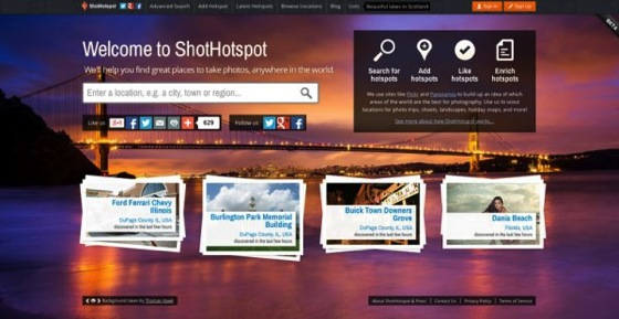 Finding New Photography Locations Just Got Easier With ShotHotspot via Digital Photography School