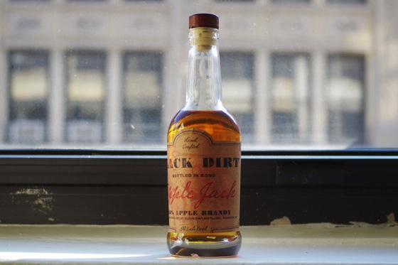 100 Proof Black Dirt Apple Jack via Cool Hunting