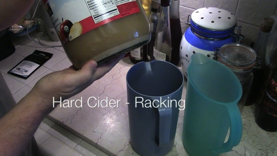 Video: Making Hard Cider - Racking - Dog Days of Podcasting 2014 - 17/30