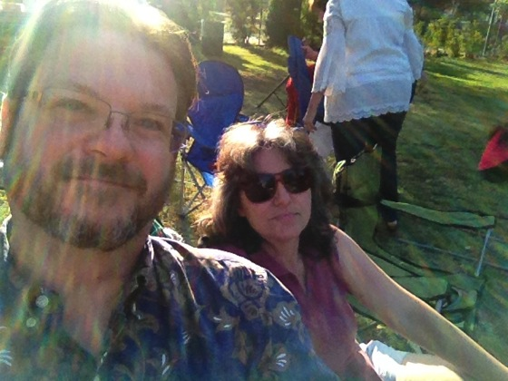 Douglas and Rosanne at Shakespeare by the Sea in Encino