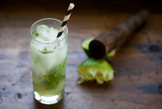 Ginger Mint Limeade via The Best Remedy