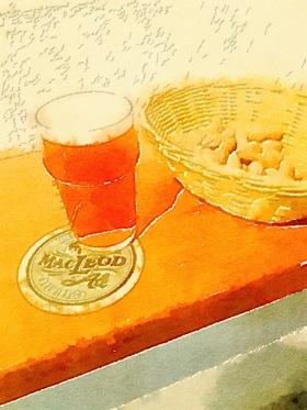 MacLeod Ale Brewing Co Watercoor 1