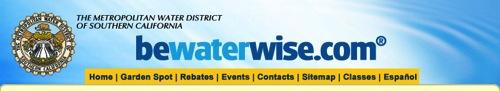 Bewaterwise header