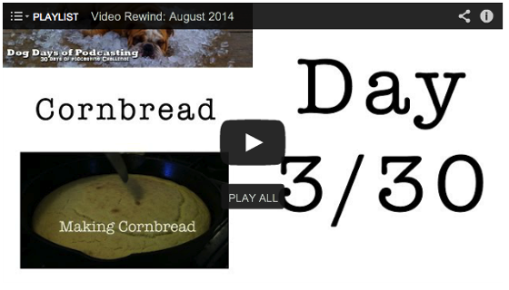 Video Rewind for August 2013 - Watch what you missed!
