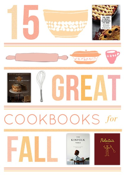 15 Great Cookbooks for Fall via DesignSponge
