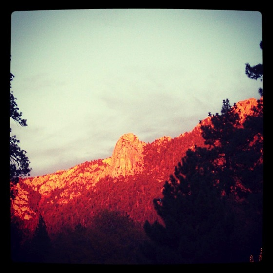 Idyllwild Sunset via #instagram