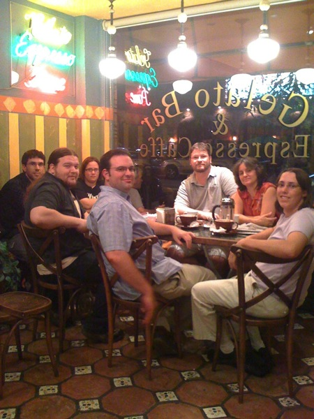 Photo: LA Friday Coffee Group from September 11, 2009 #tbt #throwbackthursday