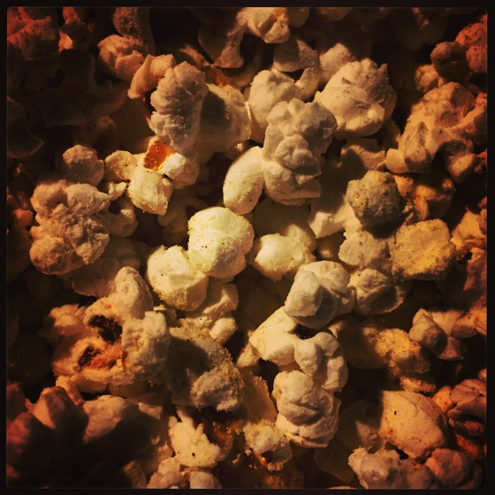 Photo: A Little Evening Popcorn via #instagram