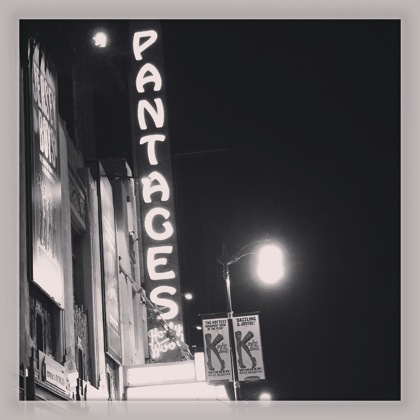Photos: Pantages Theater 3 ways instagram