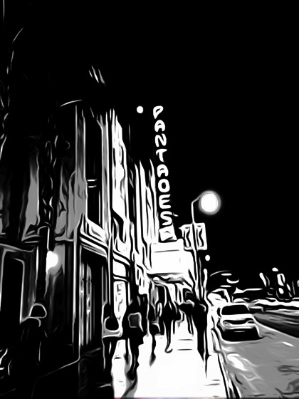 Photos: Pantages Theater 3 ways toonpaint