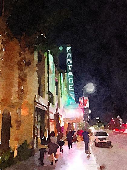 Photos: Pantages Theater 7 ways waterlogue 1